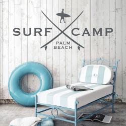 AUTOCOLLANT MURAL SURF - Surf Camp