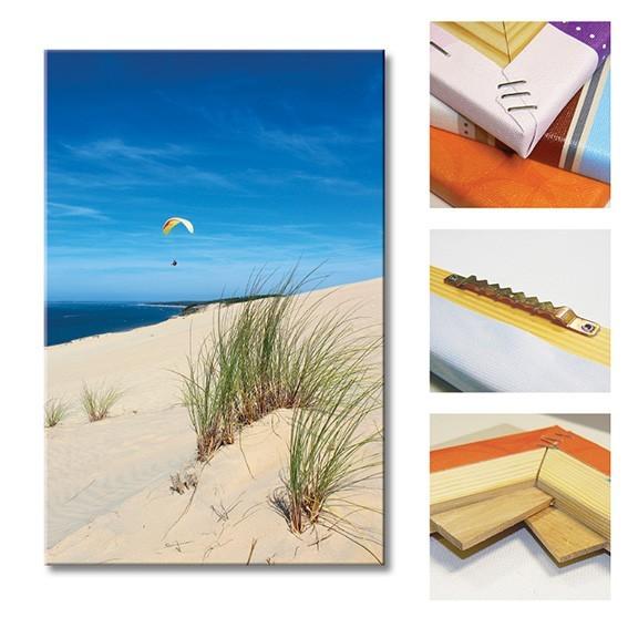 tableau toile dune du pilat vertikale d coration murale. Black Bedroom Furniture Sets. Home Design Ideas