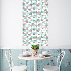 papier-peint-motif-scandinave-géométrique-pastel