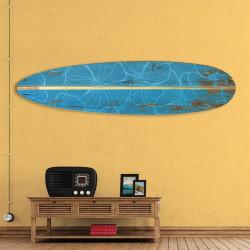 décoration-murale-alu-surf-longboard-vintage