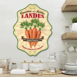 objet-déco-découpé-plaque-alimentaire-rétro-carottes