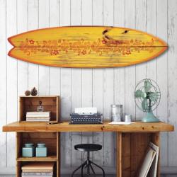 décoration-murale-alu-surf-fish-style-vintage