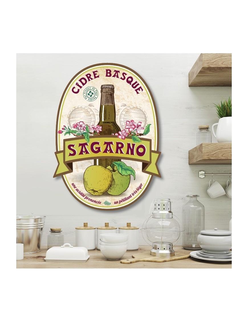 Objet D Co D Coup Plaque R Tro Sagarno Cidre Basque