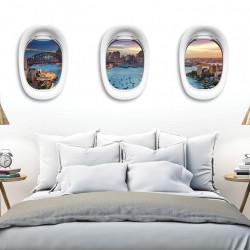 trompe-loeil-hublots-avion-vue-sur-sydney