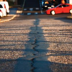 Tableau Déco Road to the Beach Couleur