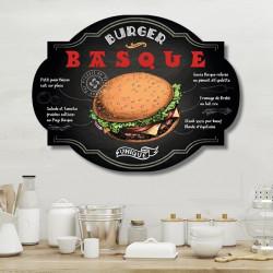 plaque-déco-rétro-burger-basque