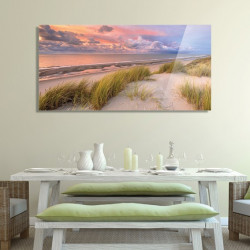 tableau-plexiglas-photo-littoral-atlantique-sunset