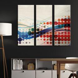 tableau-toile-triptyque-graphique-moderne-rouge-et-bleu
