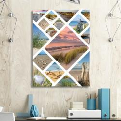 tableau-toile-mosaïque-photos-océan-atlantique