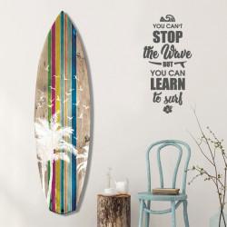 décoration-murale-alu-surfboard-rétro-motif-floride