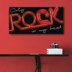 tableau-toile-only-rock-neon