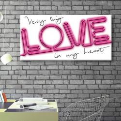 tableau-toile-big-love-neon