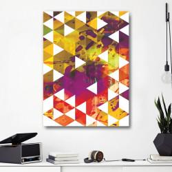 tableau Alu Origami Contemporain
