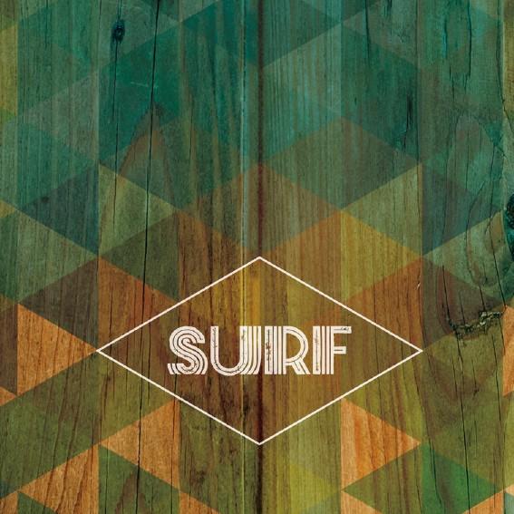 SURF ORIGAMI BLEU